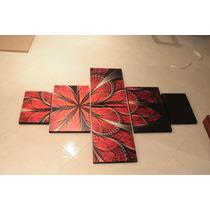 Cuadro Decorativo, Trebol Rojo, Novedoso, Hermoso, Economico