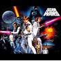 Afiche Star Wars Adhesivo Impresión 60x90 Poster