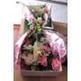Diselo Con12 Hermosas Rosas Caja Con Flores + Regalo Tarjeta