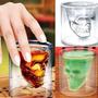 Copa Calavera Whisky 75 Ml Vidrio Cristalino Alta Calidad