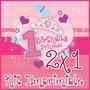 Kit Imprimible Birthday Princess 1st 2x1