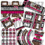 Kit Imprimible Fashion Animal Print