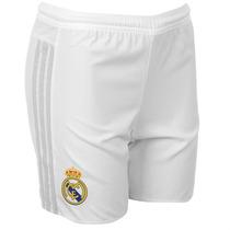 Pantaloneta Adidas Real Madrid Blanco Hombre Futbol