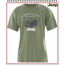 Gran Camiseta Jeep 100% Original Remate Importadas De Usa