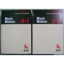 Diccionario De Uso Del Español 3a Edición - María Moliner