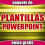 Paquete Plantillas Para Powerpoint Presentaciones, Trabajos