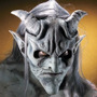 Máscara Halloween Terror De Gargola Incluye Kit De Pintura