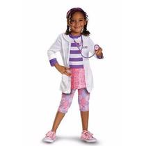 Set Disfraz Doctora Juguetes Con Estetoscopio Doc Mcstuffins