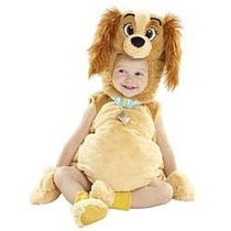 Disfraz De Lady Dog T: 12-18 M Para Niña-marca: Disney Store