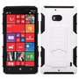 Estuche Blanco Plastic Snap Rubberized Nokia Lumia Icon 929