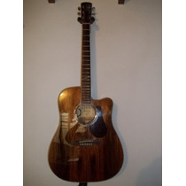 Guitarra Electroacustica Alvarez Ad60ck Madera Dao