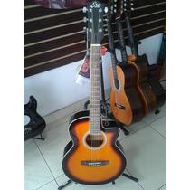 Guitarra Electro Acustica Eco Con Mifrono Fishman