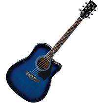 Guitarra Electroacustica Ibanez Pf15ce Tbs Azul Nuevas