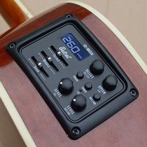 Microfono Guitarra Electro Acustica Belcat D-box Caja Ritmos