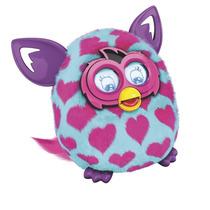 Furby Boom Azul Corazones Español Original Hasbro Colombia