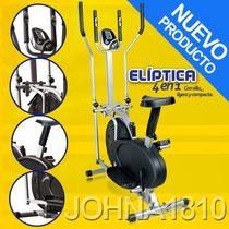 Eliptica 4 En1 Bicicleta,monitor,silla, Ritmo Cardiaco