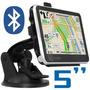 Gps Carro 5 Pulgadas Táctil Bluetooth Obsequio+ Envío Gratis