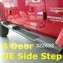 Estribos Jeep Wrangler 4 Puertas