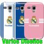 Estuche Samsung Galaxy S3 Mini Gt I8190 Real Madrid Blanco X