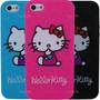 Estuche Iphone 5 En Silicona Hello Kitty Funda Carcasa Mix