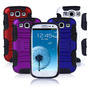 Estuche Holster Stand Para Samsung Galaxy S3 I9300 Hybrid