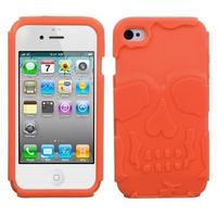 Protector Hybrid Case Para Iphone 4 4s Orange