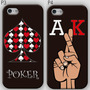 Estuche Iphone 5 Poker Texas Holdem Cartas Baraja Casino P1