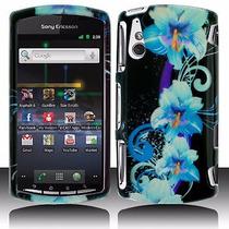 Estuche Floral Design Para Sony Ericsson R800/xperia Play