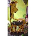 Ahorra Alcancia Deco Infantil Arte Country Hogar