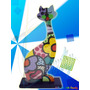 Arte Britto Gato Decorativo