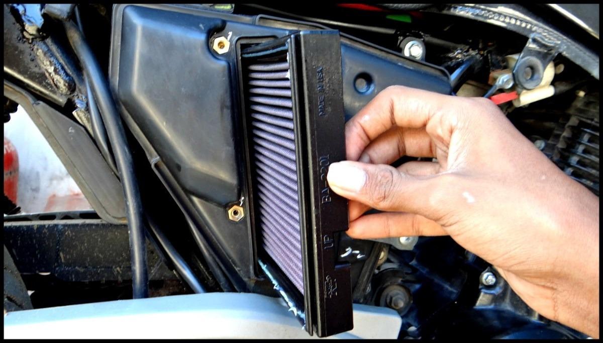 191 C 243 Mo Cambiar El Filtro De Aire De Una Moto
