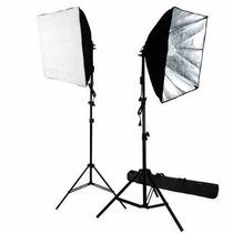 Kit Fotografico Softbox 700w 60cm, 85watt