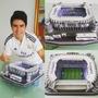Estadio Futbol Armable Real Madrid Barcelona Boca + Regalo