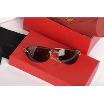 Gafas De Sol Cartier Pantera Uv400 Con Stuche Gratis Envio