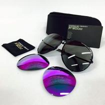 Gafas Porsche Lentes Intercambiables Violet