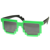 Gafas Pixel Geek Cosplay Fashion Halloween Deal With It