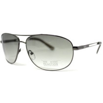 Gafas Kenneth Cole Reaction Sunglass Gunmetal Aviator, Verd