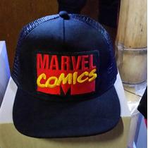 Marvel Comics Gorra Plana Snapback Diseno Energy Exclusiva