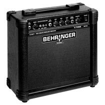 Amplificador Para Guitarra Behringer V-tone Gm108 De15w