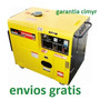 Generador Planta Electrica 6500w Diesel Silenciosa Portatil