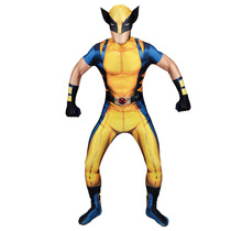 Wolverine Morphsuit - Adultos Medio Xmen De Marvel Comic
