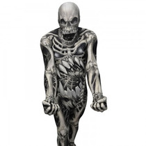 Esqueleto Morphsuit - Monster Skull And Bones Completa