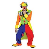 Disfraz Payaso - Pantalones Capa Multicolor 56 58 Fantasía