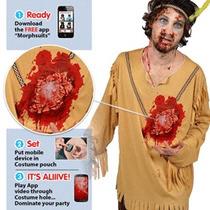 Víspera India Costume - Mcc Beating Heart Masculino Grande