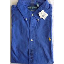Camisa Polo Ralph Lauren Manga Larga 100% Original Talla Xl