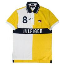 Tommy Hilfiger Camisa Estilo Polo - Envio Gratis