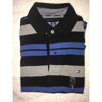 Camiseta Tommy Hilfiger Tipo Polo 100% Original Talla L S