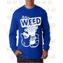 Buso De Hombre Estampado Algodon Ref Manos Mickey Marihuana