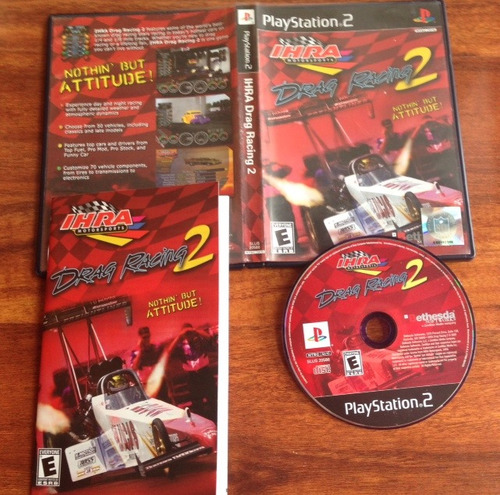 Ihra Drag Racing 2 Controls Ps2 Ihra Drag Racing 2 Carreras