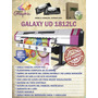 Plotter Impresion Galaxy Ud1812lc Eco Solvente Y Igt204e Dx5